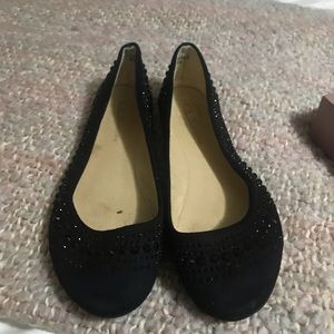 CL by Laundry black flats size 8
